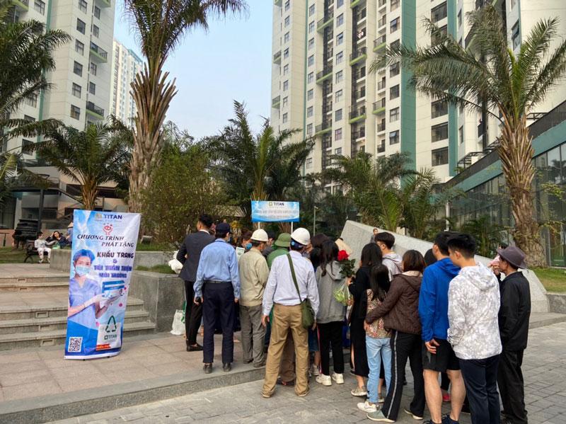 Chương trình nhận được sự quan tâm, ủng hộ của đông đảo cư dân đang sinh sống và làm việc tại KĐT Ecopark