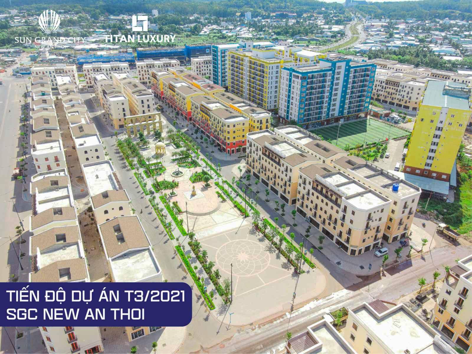 Vượt tiến độ dự án Sun Grand City New An Thoi