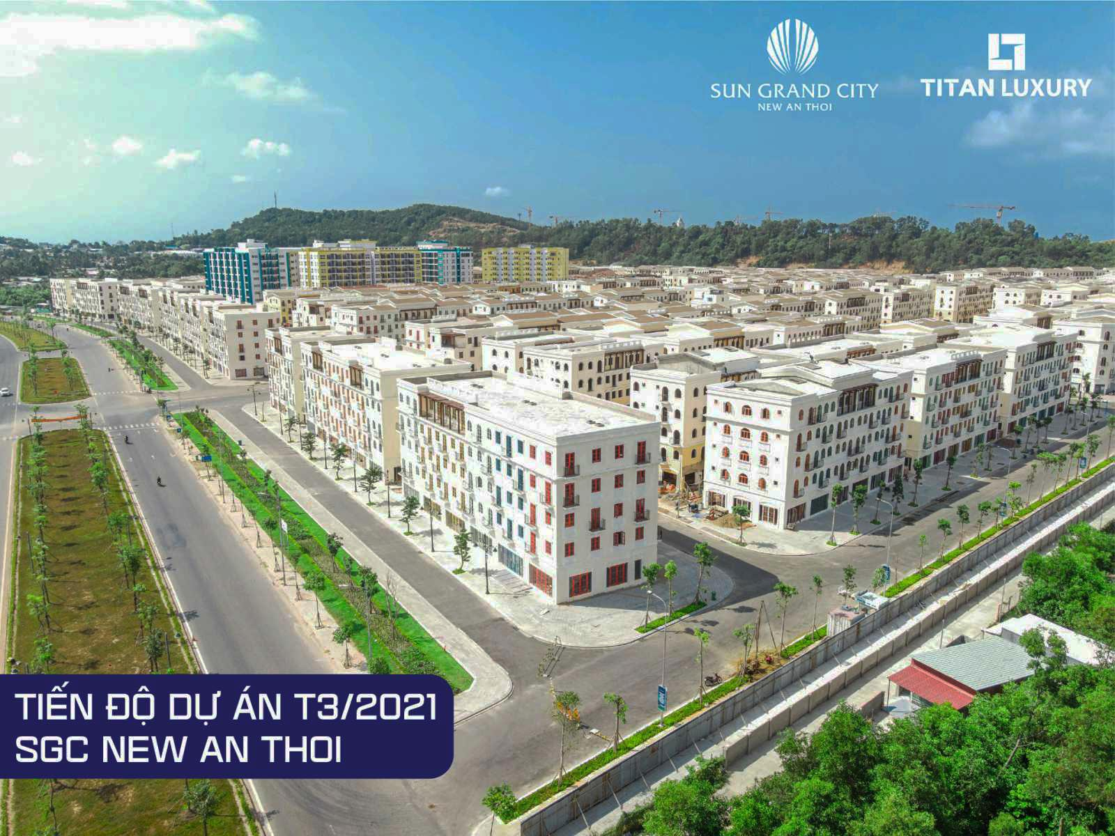 Cơ sở hạ tầng hoàn thiện phục vụ cư dân Grand City New An Thoi