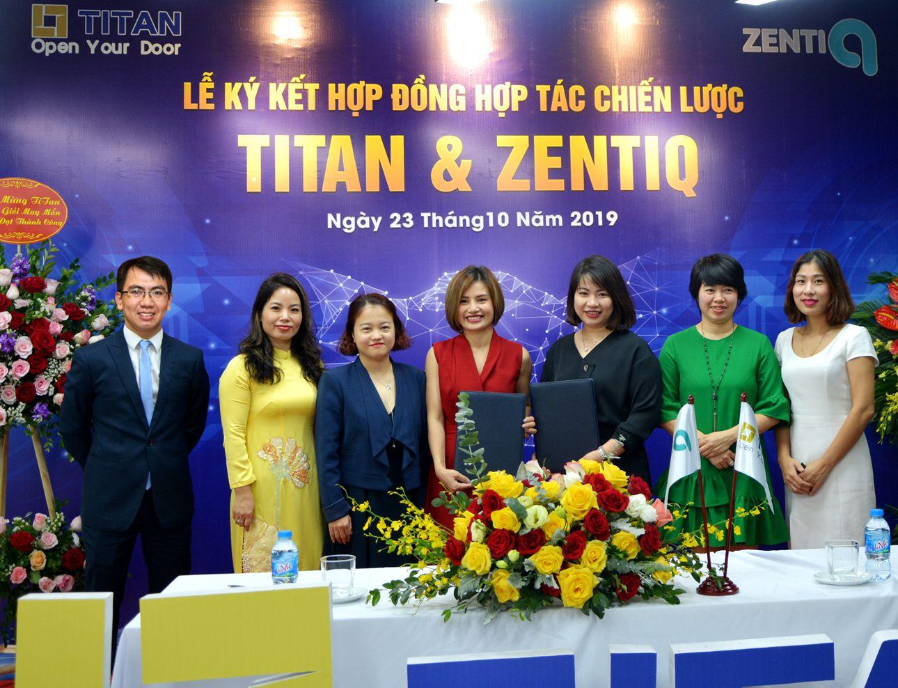 Lễ ký kết có sự tham dự của đại diện CĐT Sun Group cùng một số khách hàng, nhà đầu tư thân thiết của Titan
