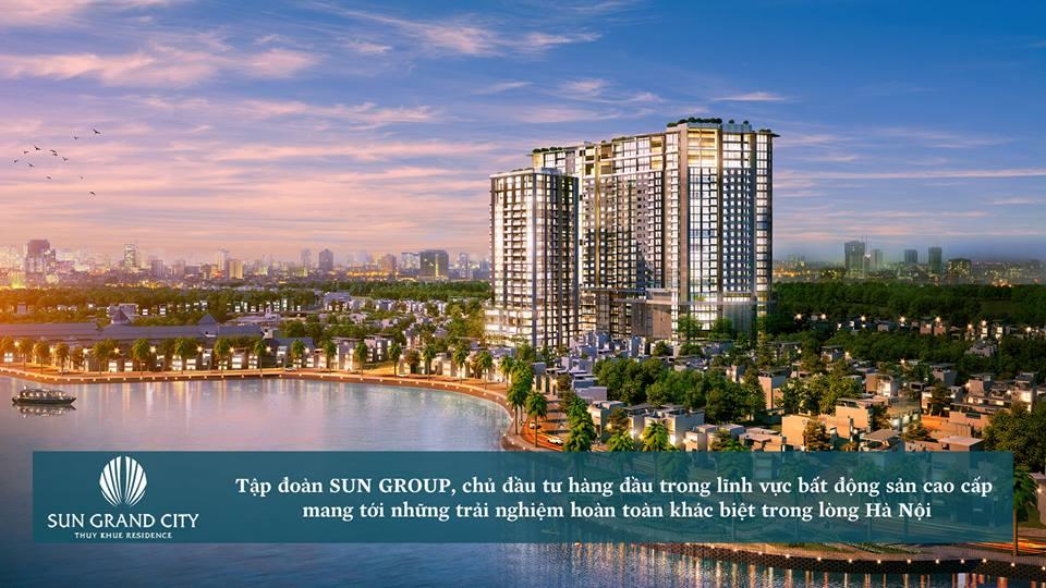 Dự án Sun Grand City 69b Thụy Khuê Residence