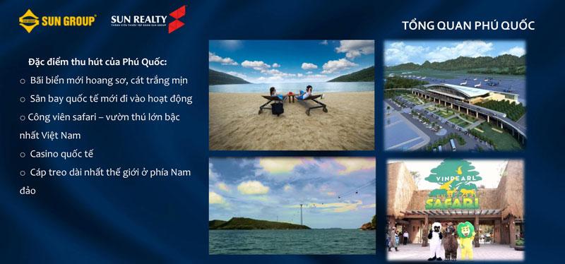 Đặc điểm thu hút của đảo Phú Quốc