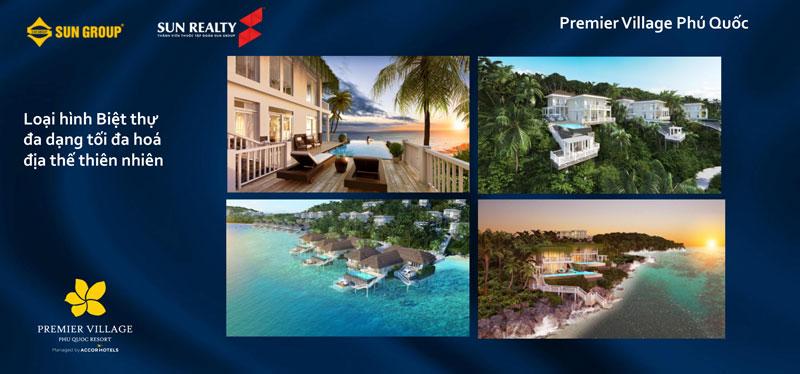 Premier Village Phú Quốc Resort - số lượng biệt thự của dự án