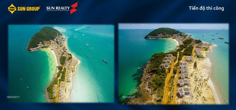 Toàn cảnh tiến độ thi công dự án Premier Village Phú Quốc Resort