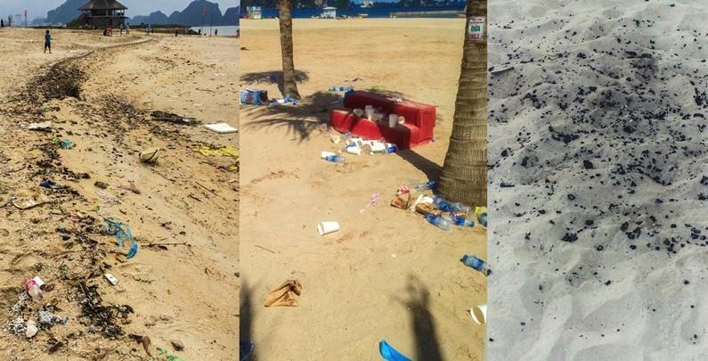 Rác thải tràn bờ biển ảnh hưởng tới môi trường