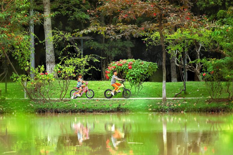 Camping Park - Ecopark sẽ gắn kết con người với thiên nhiên và là nền tảng tạo dựng những giá trị tinh thần bền vững