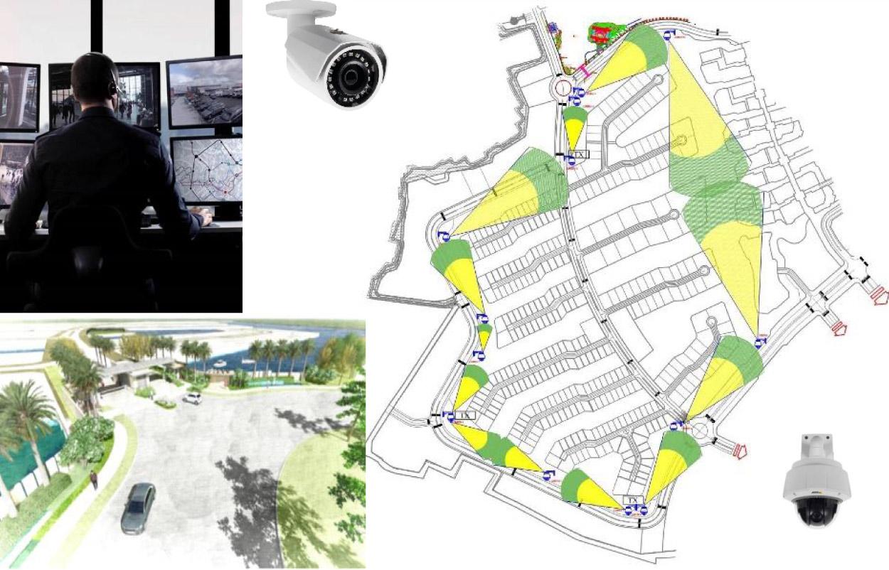 Hệ thống an ninh nhiều lớp bảo mật cực cao của Ecopark Grand The Island
