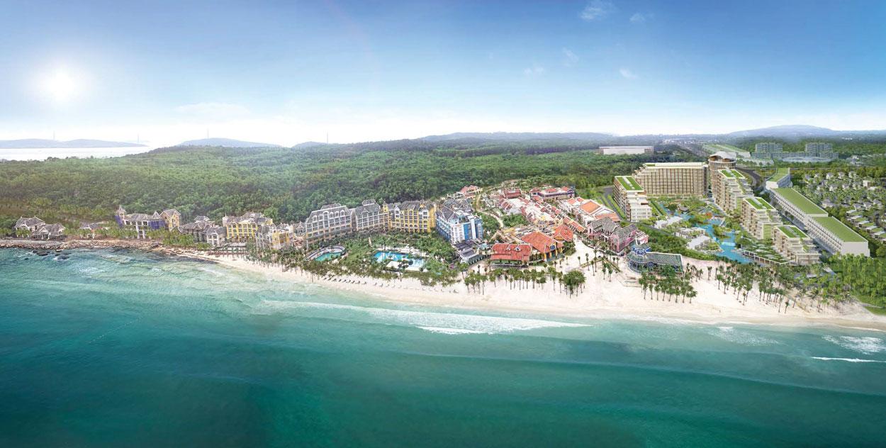 Hệ sinh thái nghỉ dưỡng Sun Group Nam Phú Quốc đáp ứng mọi nhu cầu du lịch, nghỉ dưỡng, vui chơi của du khách