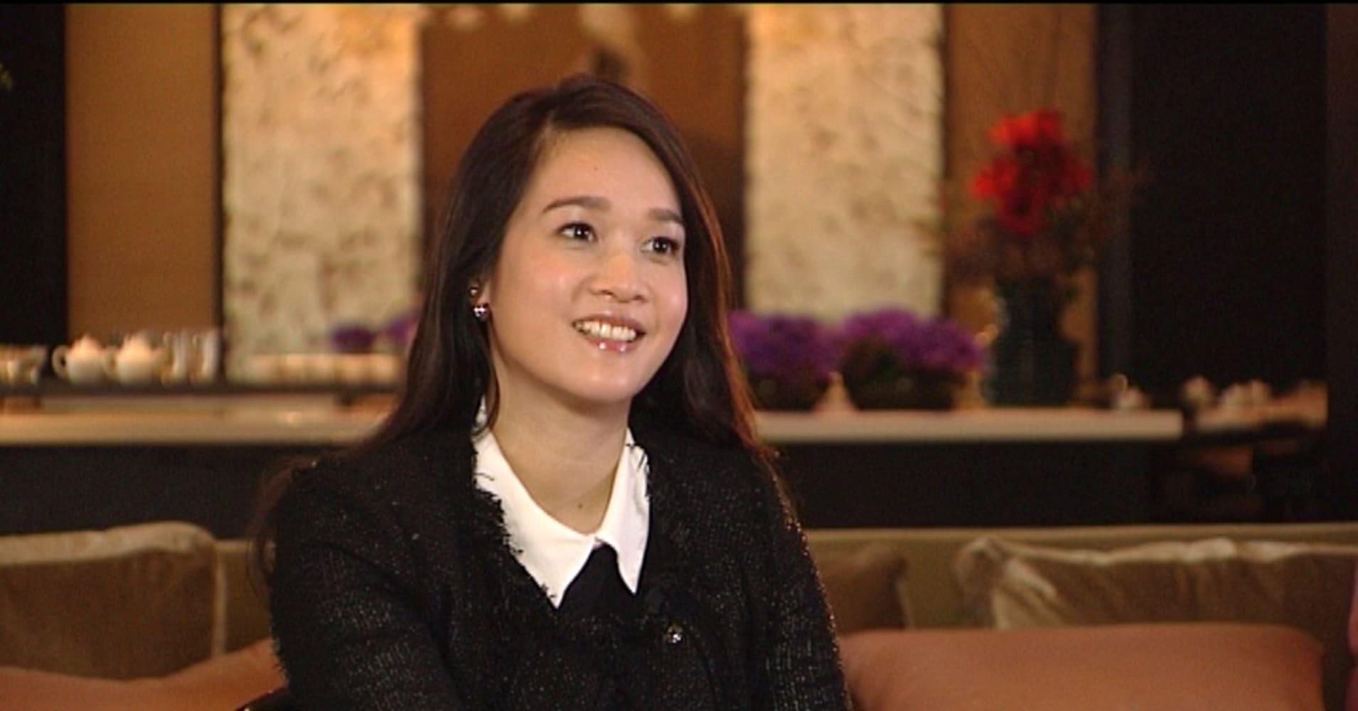 Bà Sonia Cheng - Giám đốc điều hành của Rosewood Hotel Group
