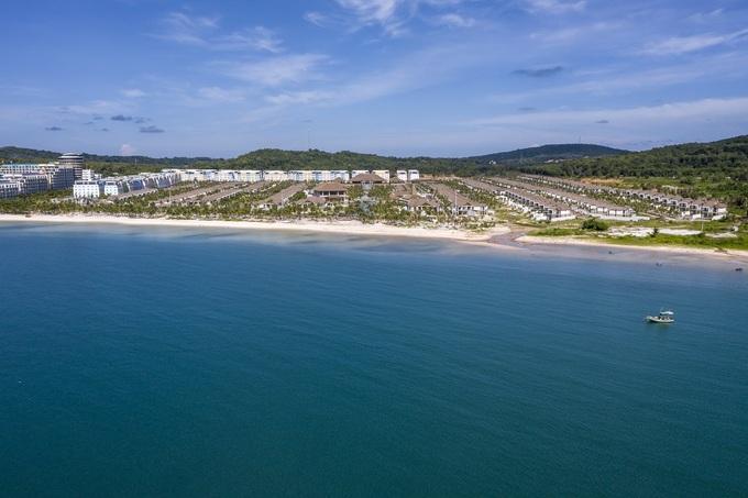 Toàn cảnh khu nghỉ dưỡng New World Phu Quoc Resort ( trước đây là Sun Premier Village Kem Beach Resort )