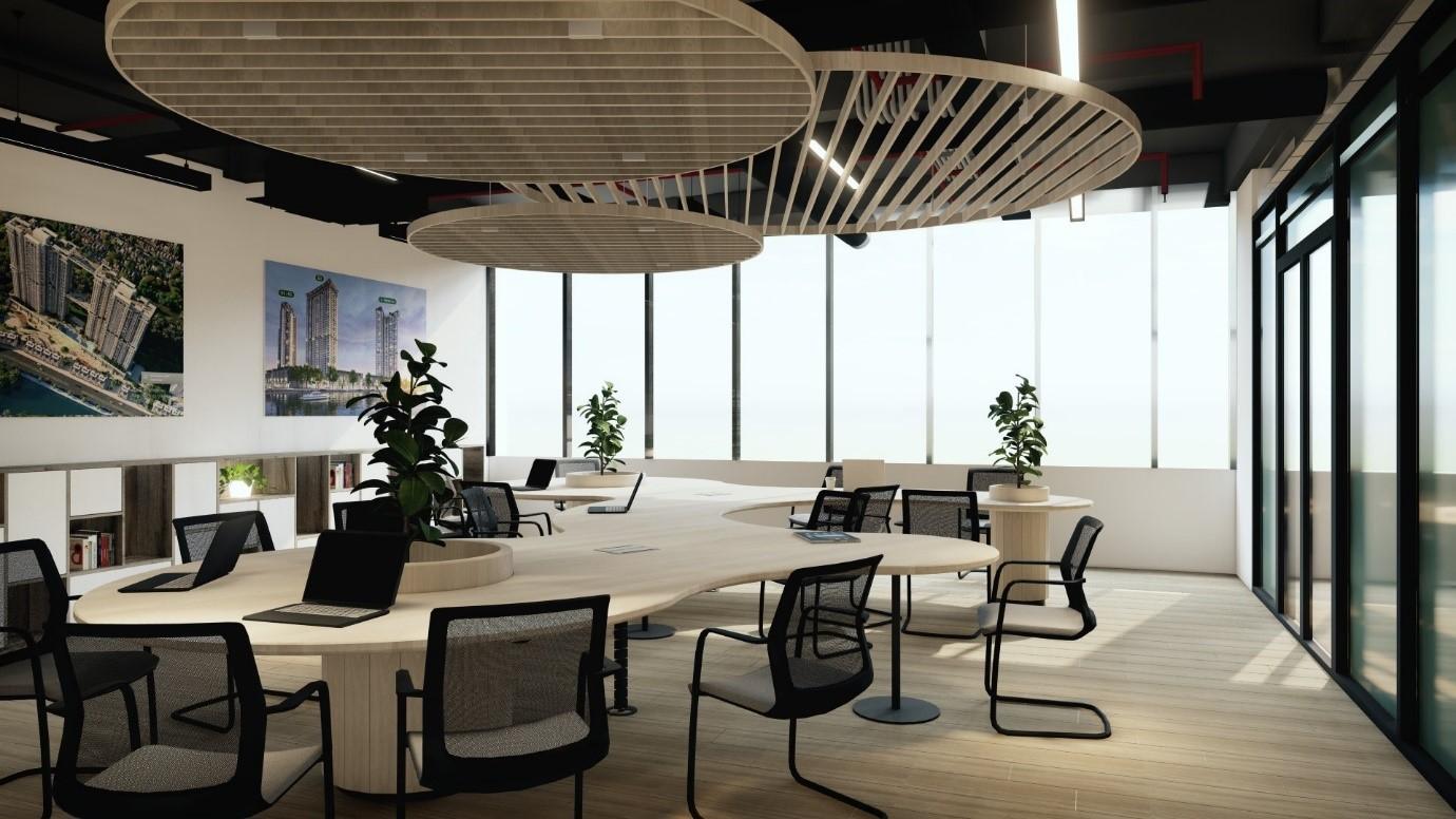 Hội sở của Titan tại Ecopark với hơn 700 chỗ ngồi làm việc hiện đại
