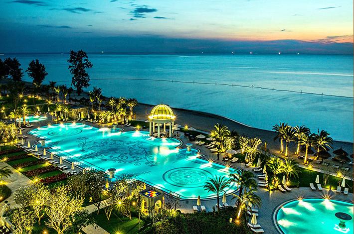 Vinpearl Phu Quoc luxury resort with direct view to Bai Dai beach