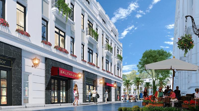 Thiết kế 3 tầng dự kiến của các căn Shophouse Bãi Kem - Bãi Kem