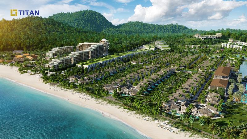 Khu nghỉ dưỡng Kem Beach dự kiến sẽ chính thức khai trương vào quý II/2020 sau hơn 2 năm xây dựng