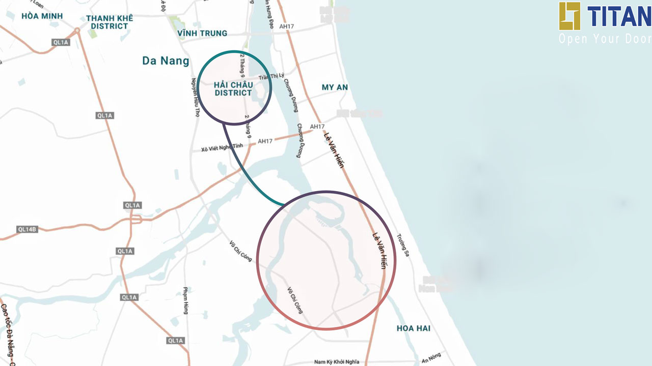 Sun Grand City nằm trên những trục giao thông huyết mạch của khu vực ven đô nối liền với trung tâm thành phố