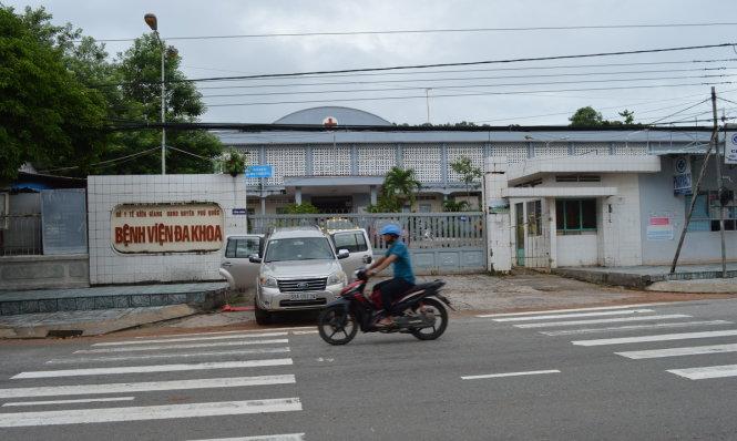 Với tổng số dân hơn 100.000 người nhưng bệnh viện đa khoa Phú Quốc là cơ sở y tế duy nhất phục vụ người dân huyện đảo