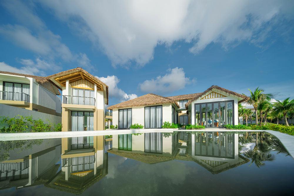 Một trong những mẫu biệt thự tại khu nghỉ dưỡng New World Phu Quoc Resort
