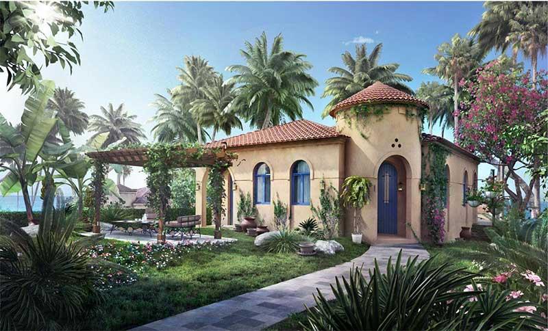 Biệt thự Nova Beach Cam Ranh mang nét cổ kính hài hòa với khoảng xanh rộng lớn