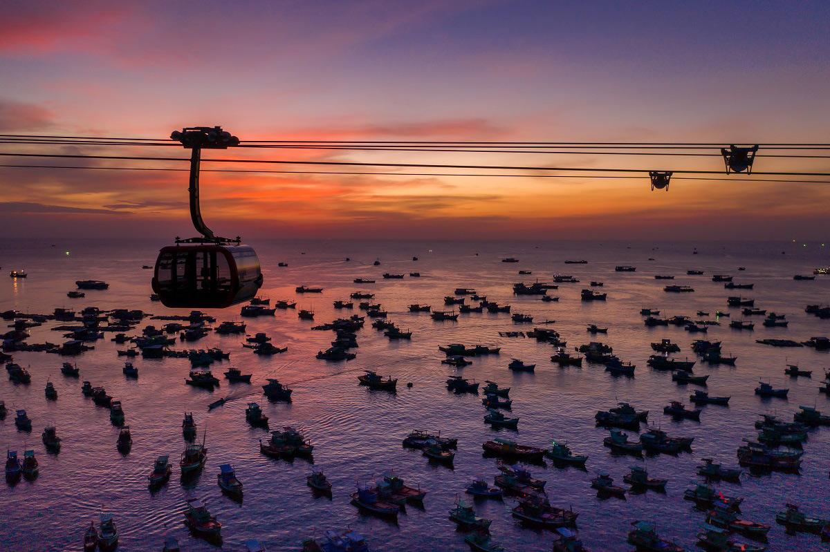 Cáp treo Hòn Thơm, Phú Quốc - cáp treo vượt biển dài nhất thế giới