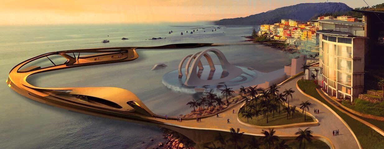 Cầu Hôn - công trình biểu tượng nghệ thuật mới của Phú Quốc