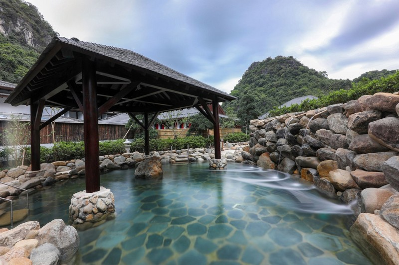 Chất lượng nguồn khoáng nóng tại Yoko Onsen Quang Hanh được đánh giá cao