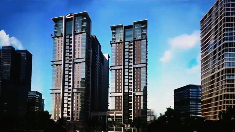 Thiết kế và phối màu tòa chung cư Sun Grand City 31 Láng Hạ Residences