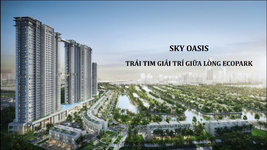 chung cu Sky oasis Ecopark