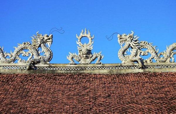 """""""Lưỡng long triều nhật"""" nét đẹp đậm chất văn hoá Á Đông"""