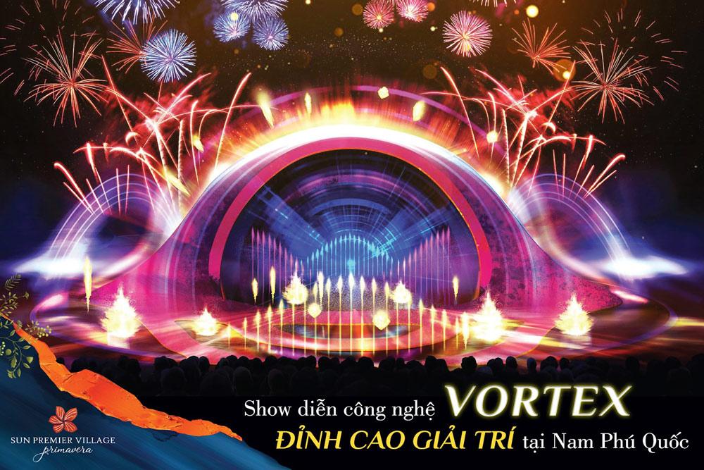 Show trình diễn công nghệ Vortex - đỉnh cao giải trí tại Phú Quốc