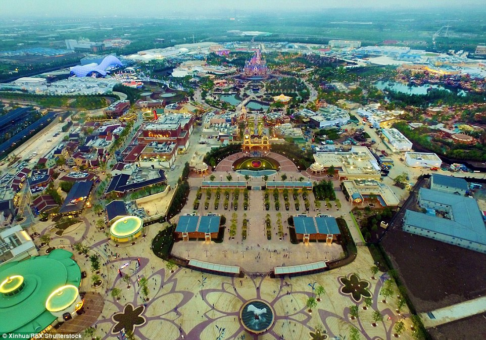 Disneyland Thượng Hải - Công viên Disney đầu tiên tại thành phố Thượng Hải