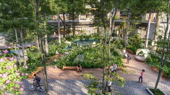 Những rừng cây 3 tầng, 3 lớp đặc trưng của Ecopark