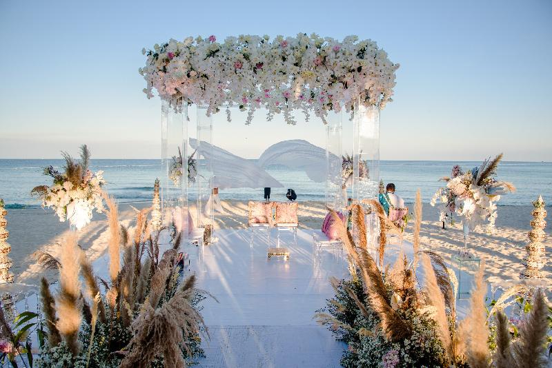 Kiệt tác kiến trúc JW Marriott Phú Quốc là địa điểm được lựa chọn tổ chức đám cưới cho cặp tỷ phú Ấn Độ