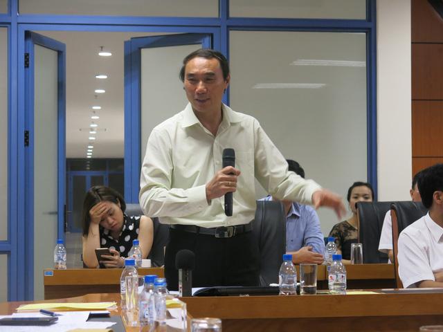 Ông Nguyễn Văn Phụng - Vụ trưởng Vụ Quản lý thuế Tổng cục Thuế chia sẻ tại Diễn đàn Bất động sản về Luật Thuế tài sản 05.2018
