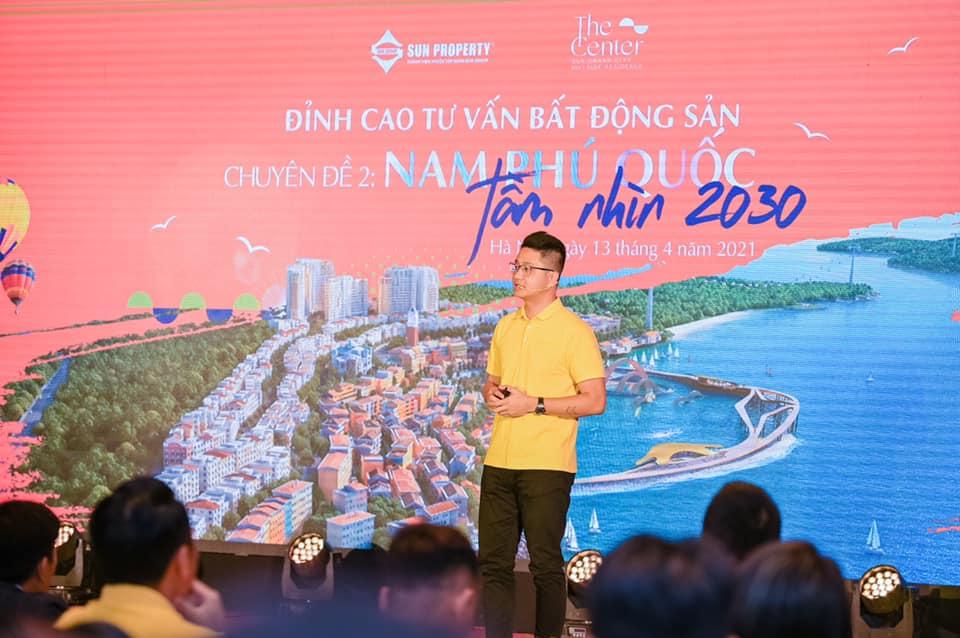 Ông Đinh Gia Long Giám đốc Kinh doanh Sun Group chia sẻ về Quy Hoạch cục bộ Phú Quốc tầm nhìn 2030