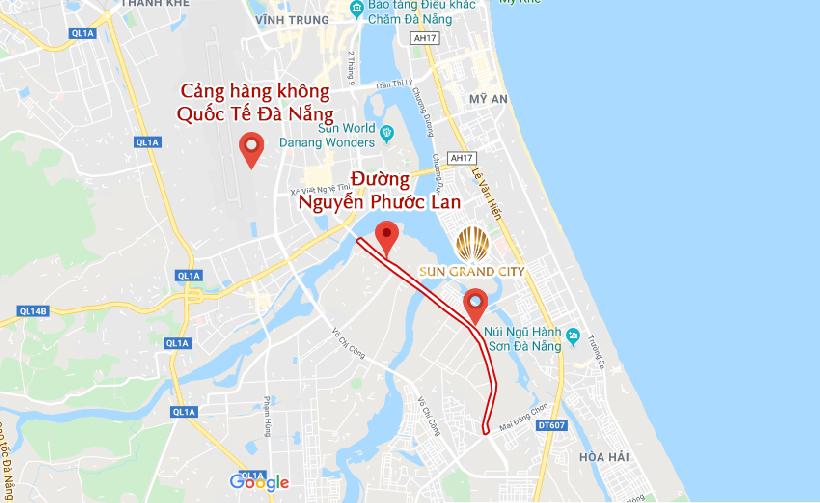 duong-nguyen-phuoc-lan-noi-san-bay-da-nang-voi-sun-grand-city-nam-hoa-xuan