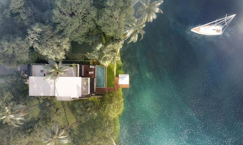 Biệt thự đảo Ecopark Grand - The Island với phong cách nghỉ dưỡng cho cộng đồng thượng lưu