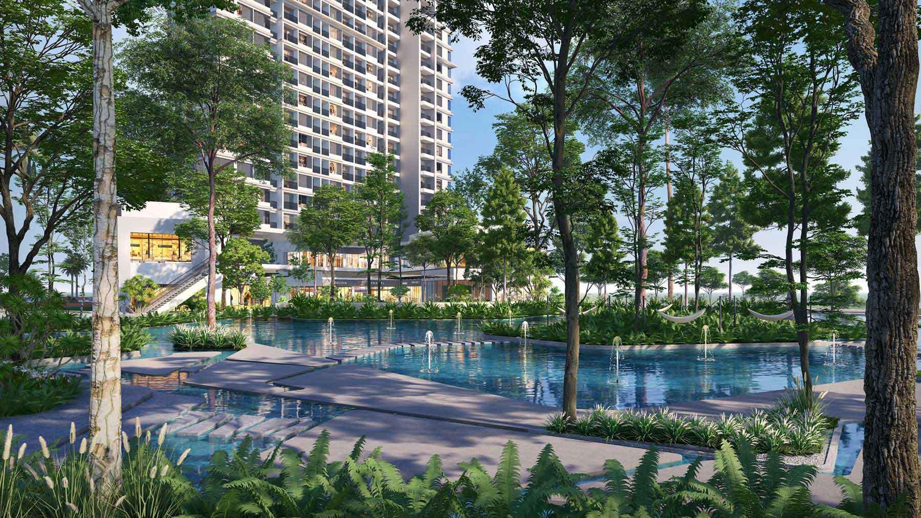 Chung cư Haven Park - giá nhà tại Ecopark