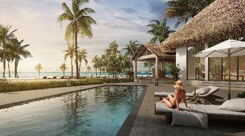 Khu nghỉ dưỡng Sun Premier Village Kem Beach Resort gây ấn tượng với khách du lịch ngay từ cái nhìn đầu tiên