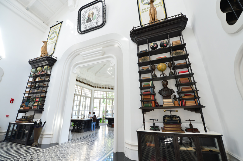 JW Marriott Phú Quốc – Phong cách thiết kế như một trường đại học cổ với ngập tràn sách vở