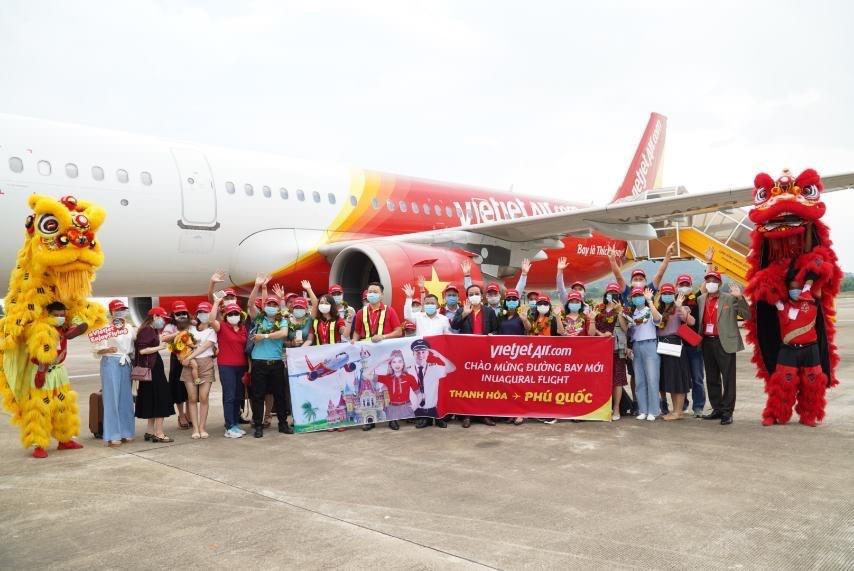 Vietjet mở 5 đường bay tới Phú Quốc phục vụ du khách tới nghỉ dưỡng vui chơi tại đảo Ngọc