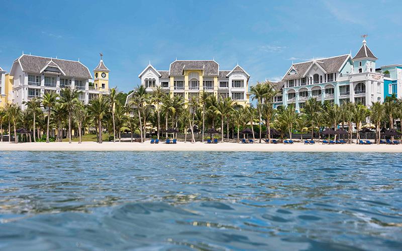 Kiến trúc ấn tượng của khu nghỉ dưỡng JW Mariott Phu Quoc được thiết kế bởi kiến trúc sư nổi tiếng Bill Bensley