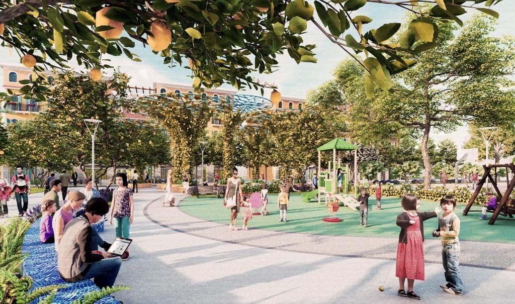 Limoni Park là nơi tập trung các hoạt động thể thao, vui chơi giữa vườn trái cây sum sê, trĩu quả