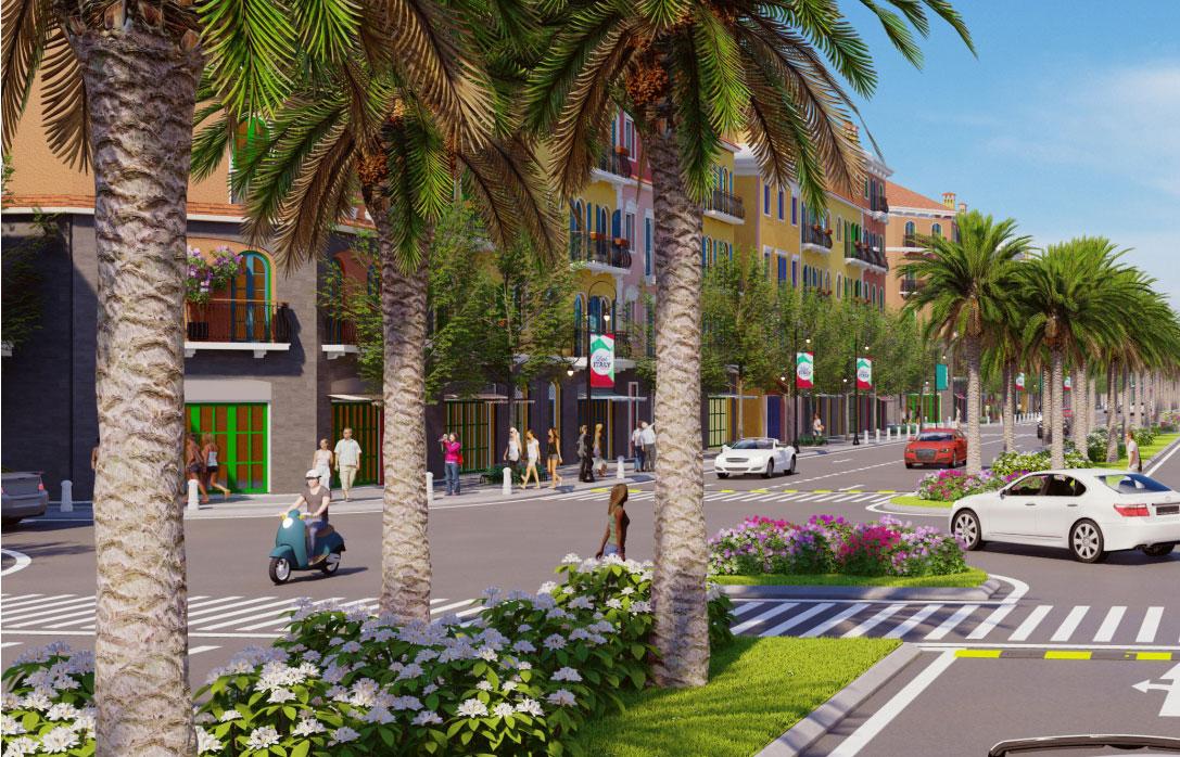 Sun Grand City Nam Phú Quốc - ảnh 3D nhìn từ đường 975