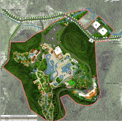 Quy hoạch khu nghỉ dưỡng suối khoáng nóng cao cấp Quang Hanh