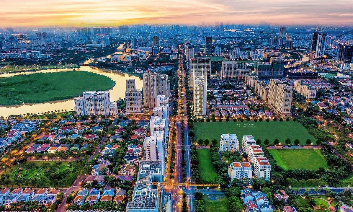 Khu CBD Phú Mỹ Hưng (HCM) đưa đô thị phía Nam thành mũi nhọn