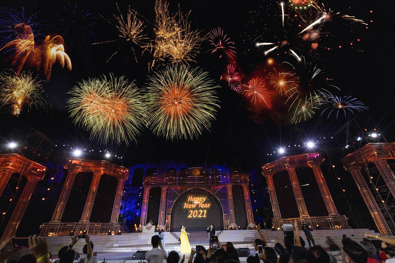 Lễ countdow hoành tráng, quy mô lần đầu tiên tại Phú Quốc được tổ chức tại An Thới