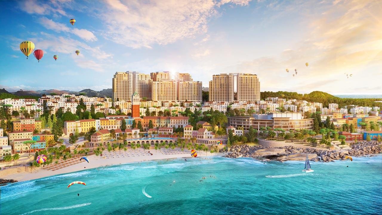 Vị trí đắt giá, tầm view nghìn tỷ của dự án Sun Grand City Hillside Residence