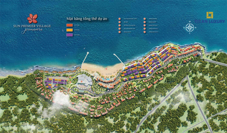 Mặt bằng đánh số dự án Shophouse Địa Trung Hải