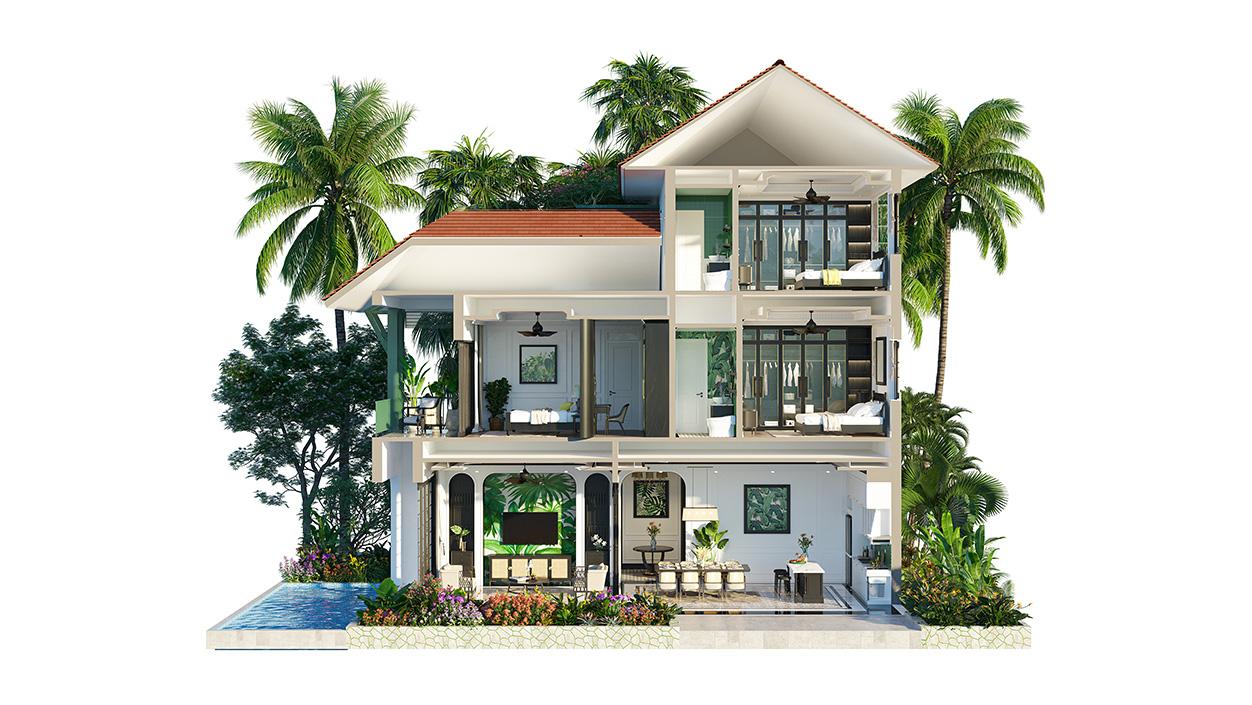 Biệt thự đơn lập Tropical Village