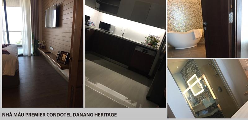 Nhà mẫu căn hộ Condotel Da Nang Heritage